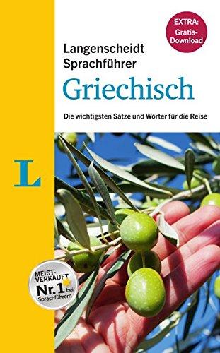 9783468222160: Langenscheidt Sprachführer Griechisch