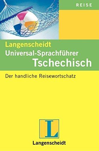9783468233609: Langenscheidt Universal-Sprachf�hrer Tschechisch