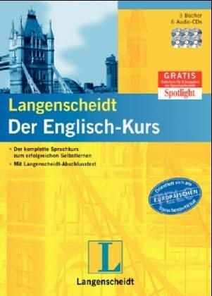 9783468266256: Langenscheidt Der Englisch-Kurs - Set mit 3 B³chern und 6 Audio-CDs
