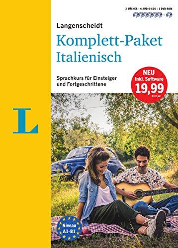 9783468266904: Langenscheidt Komplett-Paket Italienisch - Sprachkurs mit 2 Büchern, 6 Audio-CDs, 1 DVD-ROM, MP3-Download: Sprachkurs für Einsteiger und Fortgeschrittene