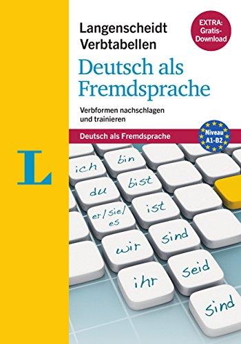 9783468341151: Langenscheidt Verbtabellen Deutsch - German Verb Tables (German Edition): Verbformen nachschlagen und trainieren