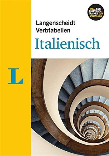 9783468341854: Langenscheidt Verbtabellen Italienisch