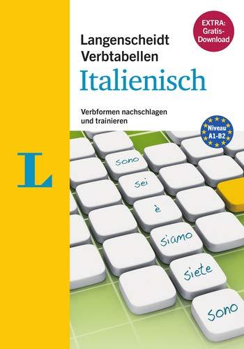 9783468341861: Langenscheidt Verbtabellen Italienisch - Buch mit Software-Download