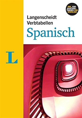 9783468343452: Langenscheidt Verbtabellen Spanisch