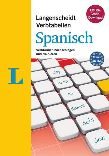 9783468343469: Langenscheidt Verbtabellen Spanisch - Buch mit Software-Download