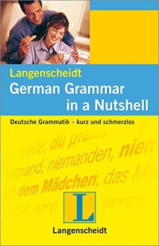 9783468349492: Langenscheidt German Grammar in a Nutshell (German Edition)