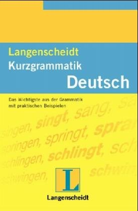 9783468351105: Kurzgrammatik Deutsch