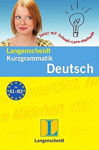 9783468351136: Langenscheidt Grammars and Study-AIDS: Langenscheidt Kurzgrammatik Deutsch (German Edition)