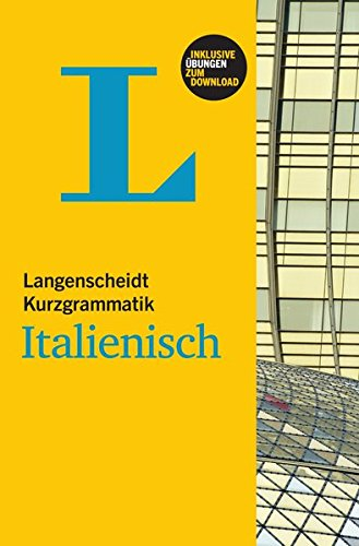 9783468351822: Langenscheidt Kurzgrammatik Italienisch