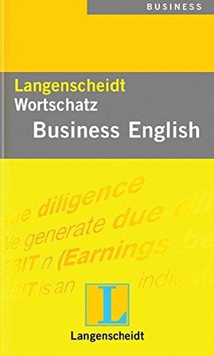 9783468409622: Langenscheidt Wortschatz Business Englisch