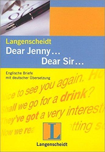 9783468419232 Englische Briefe Mit Deutscher übersetzung Dear