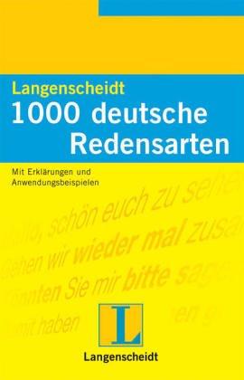 9783468431128: 1000 Deutsche Redensarten