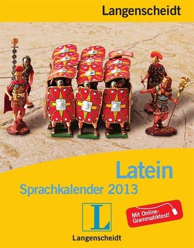 9783468448553: Langenscheidt Sprachkalender Latein 2013