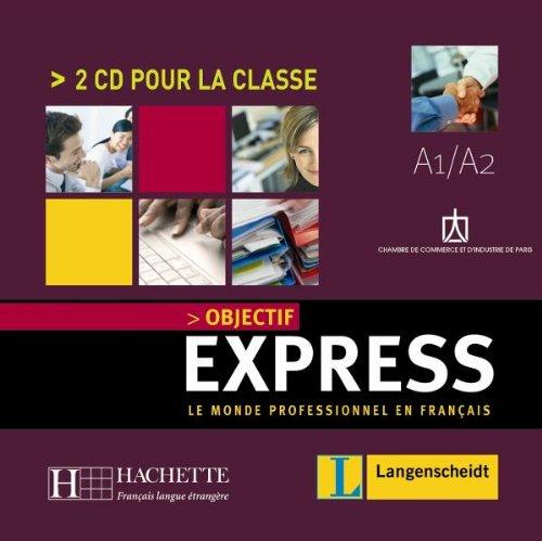 9783468454332: Objectif Express A1 / A2. 2 CDs