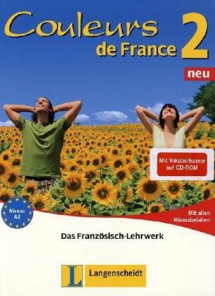 9783468454585: Couleurs de France Neu 2. Set aus Buch, Audio-CDs und Vokabeltrainer