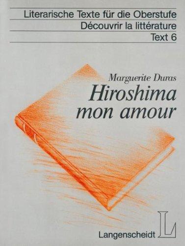 Hiroshima Mon Amour Texte Integral