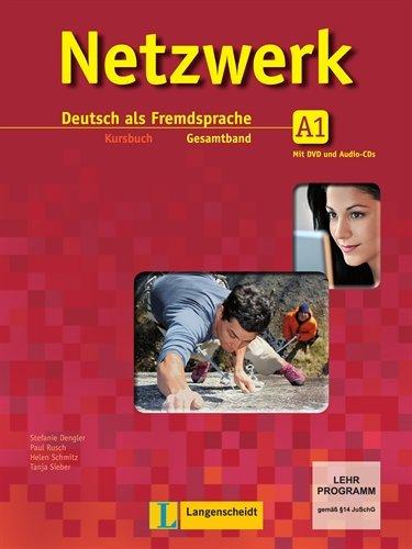 9783468468001: Netzwerk A1. Kursbuch mit 2 Audio-CDs und DVD: Deutsch als Fremdsprache