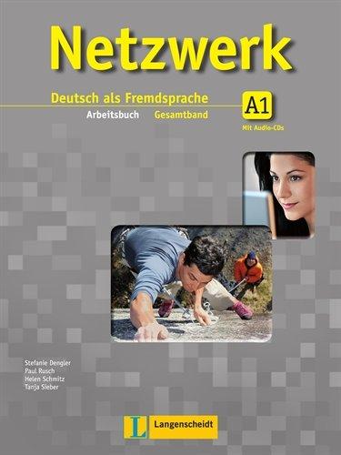 9783468468018: Netzwerk: Arbeitsbuch A1 MIT 2 Audio-Cds (German Edition)