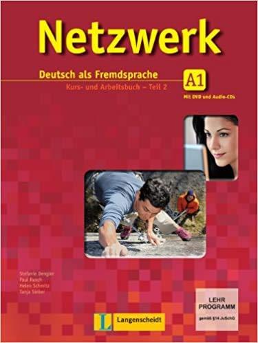 9783468468032: Netzwerk in Teilbanden: Kurs- Und Arbeitsbuch A1 - Teil 2 MIT 2 Audio-Cds Und DVD (German Edition)