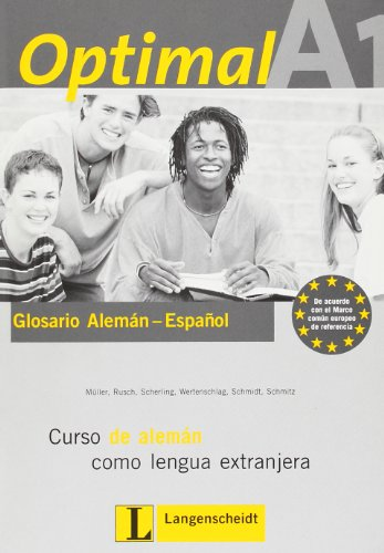 9783468470172: Optimal: Glossar A1 Spanish (German Edition)