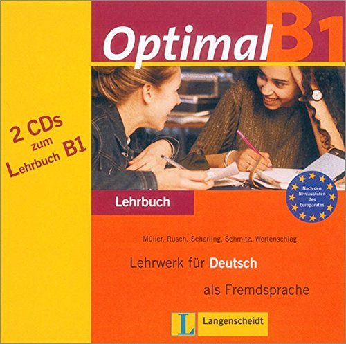 9783468470653: Optimal B1 Audio-cds for Textbook (German Edition)