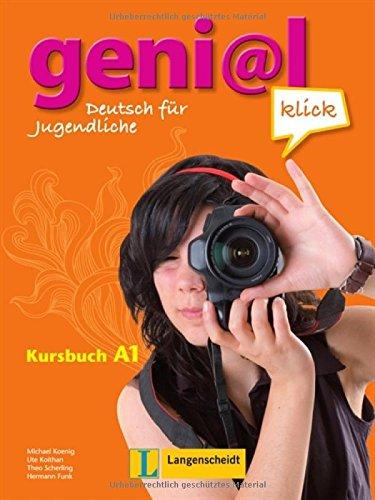 9783468471001: Geni@l Klick: Kursbuch A1 MIT Audio-Cds (2) (German Edition)