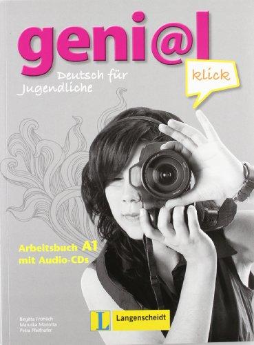 9783468471018: Geni@l Klick: Arbeitsbuch A1 MIT Audio-Cds (2) (German Edition)