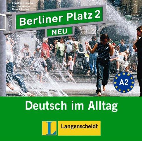 9783468472237: Berliner Platz Neu: Cds Zum Lehrbuchteil 2 (2) (German Edition)