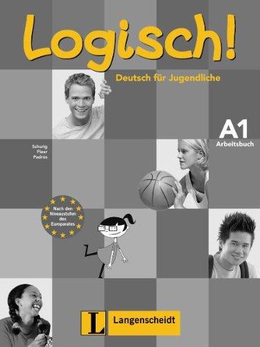9783468474224: Logisch A1 ejercicios con CD audio (Texto)