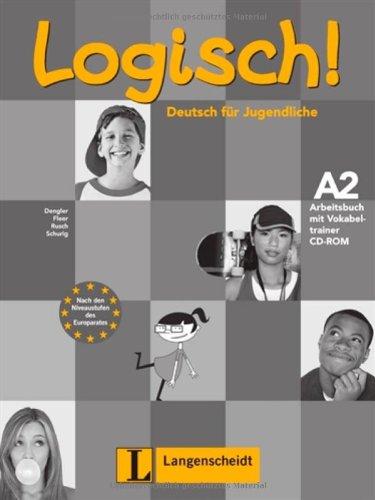 9783468474422: Logisch!: Arbeitsbuch A2 MIT Audio-CD (German Edition)