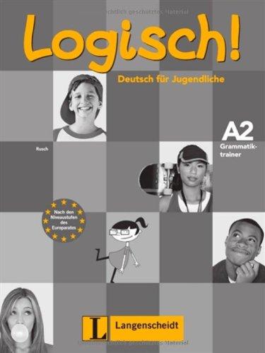 9783468474453: Logisch! A2. Grammatiktrainer. Per la Scuola media