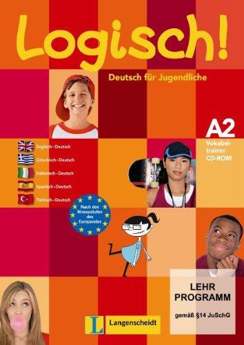 9783468474507: Logisch A2 trainer vocabulario CD-ROM (Texto)