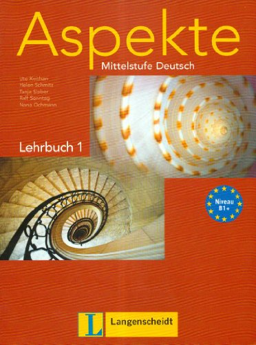 9783468474712: Aspekte Mittelstufe Deutsch Lehrbuch 1
