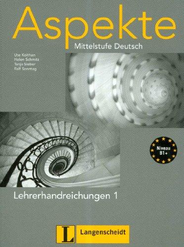 9783468474736: Aspekte 1 profesor (Texto)