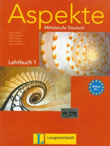 9783468474743: Aspekte: Mittelstufe Deutsch, Lehrbuch 1 (Book & DVD)