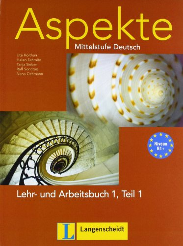 9783468474781: Aspekte in Halbbanden: Lehr- Und Arbeitsbuch 1 MIT Audio-CD Teil 1