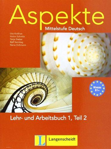 9783468474798: Aspekte in Halbbanden: Lehr- Und Arbeitsbuch 1 MIT Audio-CD Teil 2 (German Edition)