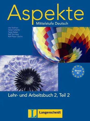9783468474880: Aspekte 2-parte 2 libro alumno y ejercicios con CD audio (Texto)