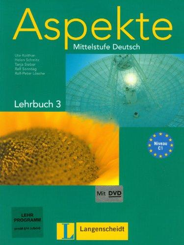 9783468474941: Aspekte: Lehrbuch 3 MIT DVD (German Edition)