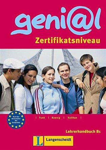 9783468475320: Genial: Lehrerbuch B1 (MIT Integriertem Kursbuch Und Zusatz. Kopiervorlagen)