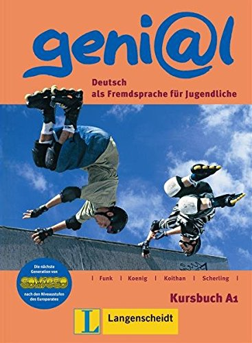 9783468475504: Genial: Deuthsch als Fremdsprache fur Jugendliche : Kursbuch A1 (German Edition)