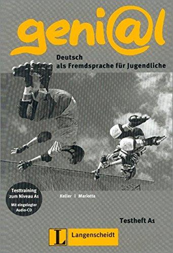 Genial: Testheft A1 & Audio-CD (German Edition): Funk, Hermann, Keller,