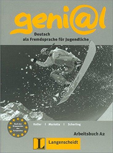 9783468475719: Geni@l: Deutsch als Fremdsprache Fur Jugendliche: Arbeitsbuch A2 (German Edition)
