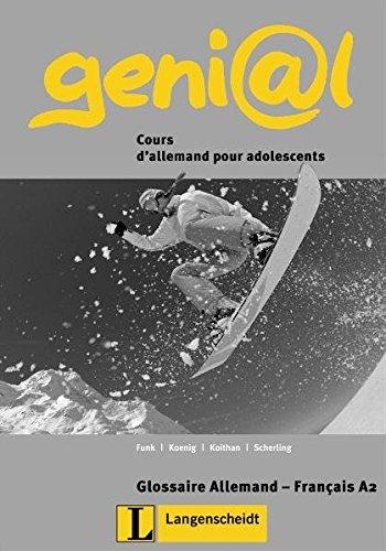 9783468475818: genial. A2 Cours d´allemand pour adolescents