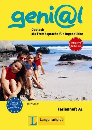 9783468475900: Ferienhefte Geni@L: Ferienheft A1 MIT CD (German Edition)