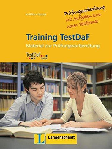 9783468476365: Training Testdaf: Trainingsbuch Zu Testdaf - Buch MIT 2 Cds (German Edition)
