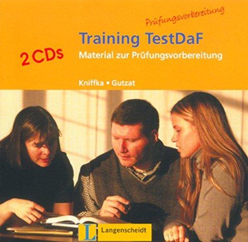 9783468476396: Training TestDaF: CDs (2)