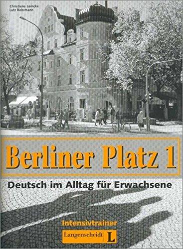 berliner platz 1 intensivtrainer pdf. Black Bedroom Furniture Sets. Home Design Ideas