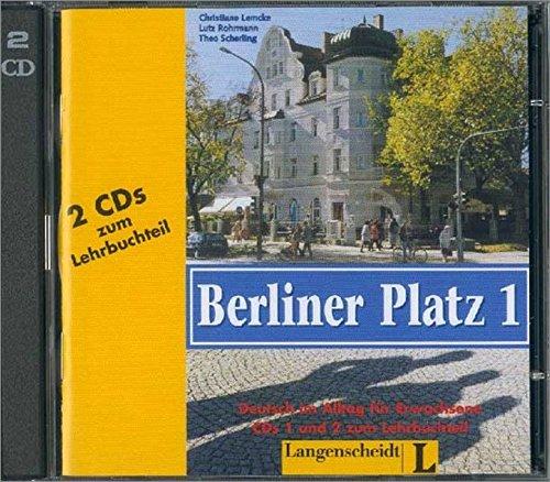 9783468478345: Berliner Platz: CDs zum Lehrbuch 1 (German Edition)