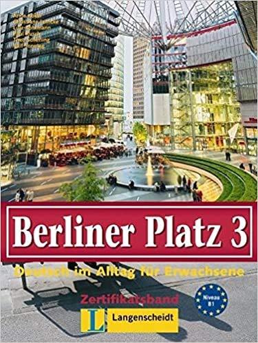 9783468478710: Berliner Platz: Lehr- Und Arbeitsbuch 3